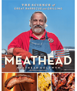 Meathead The Science of Great BBQ and Grilling Cookbook Cover