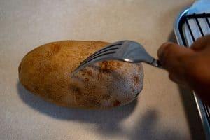 piercing potato