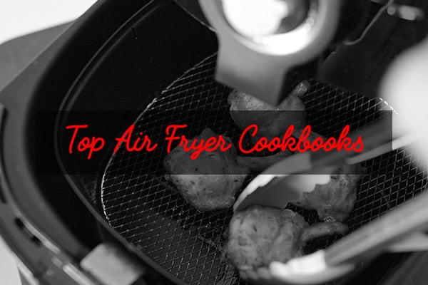 Air fryer cookbooks banner