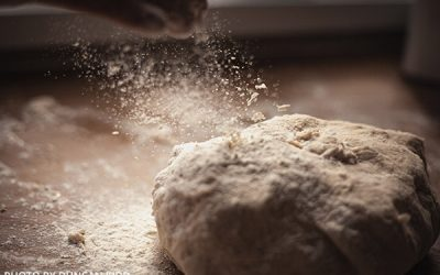 How To Clean A Flour Dough Mess